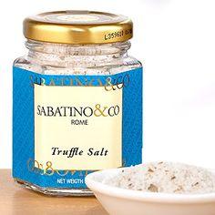 Sabatino Truffle Sea Salt - With SABATINO on the label, it must be good!