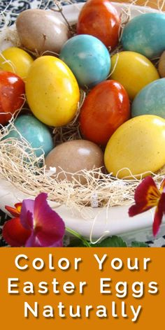 Coloring Easter Eggs Naturally! Fun and educational way to spend time with your kids!