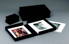 Century Portfolio Boxes.