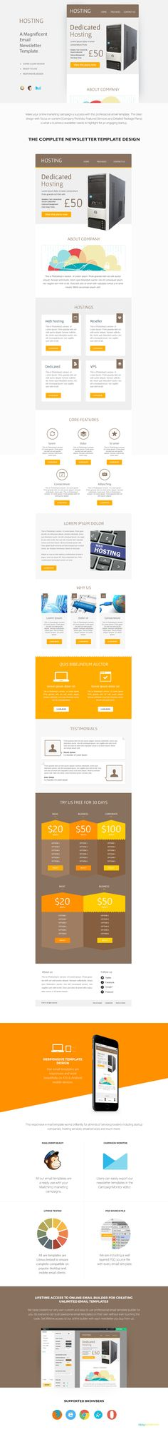 Business Email Template PSD Download here    graphicriver - business email template