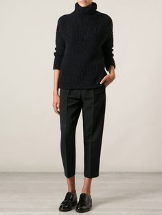 Forte Forte turtle-neck sweater Farfetch | ELLE