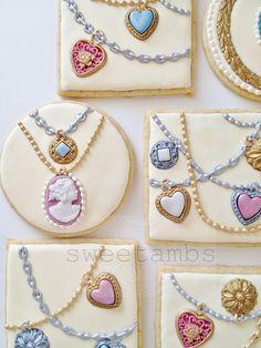 Jewelry Cookies by SweetAmbsCookies, via Flickr