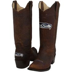 Totally want these Seahawk Boots #EffenAwesome.