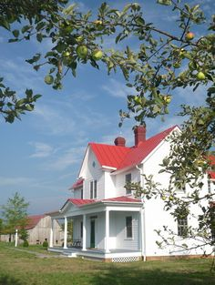 Traditional Exterior Photos Country Farmhouse Design, Pictures, Remodel, Decor and Ideas - page 9