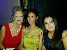 Tricia, Beth & Kelly at the English Hair & beauty Awards 2015
