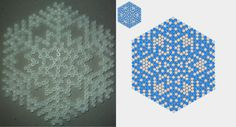 Snowflake Perler + pattern 2 by yurai-yukimura on deviantART