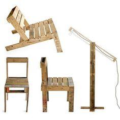 Arredamento: mobili fai da te ecologici