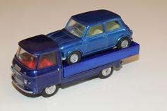 CORGI - Mini Cooper prototype? Base on a late Mini Minor body with a Marcos Take Off wheels frame.