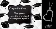 Congratulations 2015 graduates. Go out and share your sparkle with the world!