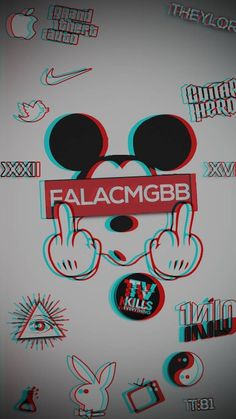 Mickey mouse wallpaper by - 62 - Free on ZEDGE™ Graffiti Wallpaper Iphone, Simpson Wallpaper Iphone, Crazy Wallpaper, Glitch Wallpaper, Mood Wallpaper, Galaxy Wallpaper, Mickey Mouse Art, Mickey Mouse Wallpaper, Disney Wallpaper