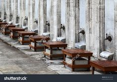 stock-photo-outside-the-suleymanyie-mosque-the-seats-and-taps-are-used-for-ablutions-washing-before-entering-86816620.jpg (1500×1058)