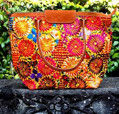 Flores Yellow Tote by Fresco Fabrics ** Read more reviews of the product by visiting the link on the image.-It is an affiliate link to Amazon.