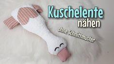Kuschelente - Nähanleitung OHNE Schnittmuster - Für Anfänger - Nähtinchen