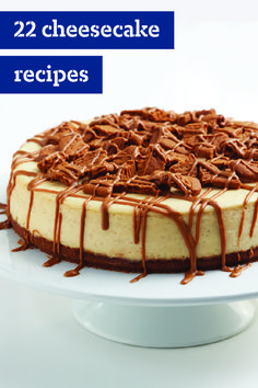 22 Cheesecake Recipes – Want to celebrate an occasion with something effortlessly elegant? The answer to all: a cheesecake recipe! We've got all kinds of sweet treats, as well as tips on how to bake the perfect cheesecake.