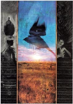 Korova Milkbar: Sandman cover art Dave McKean.