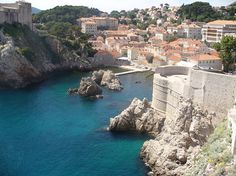 City Walls: Dubrovnik, Croatia. Wow.