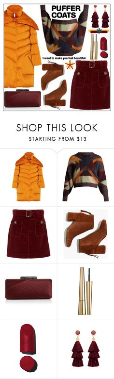 """Stay Warm: Puffer Coats"" by pat912 ❤ liked on Polyvore featuring 2nd Day, Isabel Marant, AlexaChung, Madewell, Sondra Roberts, Victoria Beckham, Chanel, polyvoreeditorial and puffercoats"