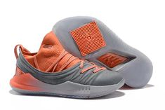 82dcda68beb 2018 Cheap Under Armour Curry 5 Low Orange Grey Shoes To Buy
