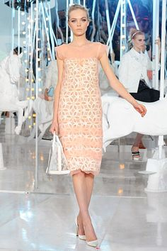 Ladies who lunch at Louis Vuitton Spring 2012 RTW. Also, models on merry-go-round horses. Thanks Marc!