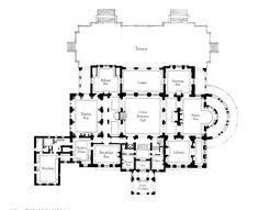 Wayne Manor inspiration - First Floor of the Breakers
