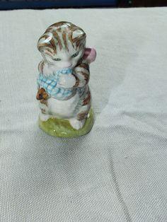Amiable Nwtib Wedgewood Beatrix Potter Peter Rabbit Blue Boy Piggy Bank Moneybox Last Style Baby
