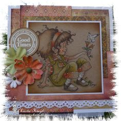 Another love to scrap card