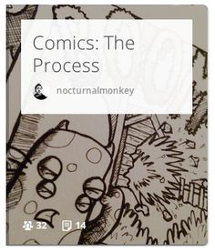 A collection of links, articles and resources related to the process of creating comics. From writing scripts, turning them into comics to general drawing techniques that might help you along the way. #Comics #Storytelling