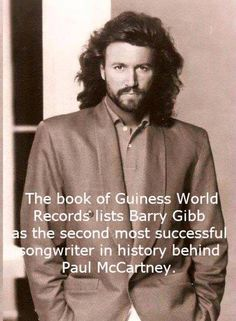 . Pop Rock, Rock And Roll, Warner Music, Mending A Broken Heart, Barry Gibb, Learning To Be, World Records, My Favorite Music, Paul Mccartney