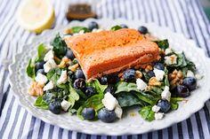 Salmon Walnut Salad | Garlic, My Soul
