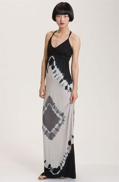 Young, Fabulous & Broke 'Pin' Diamond Tie Dye Maxi Dress available at Nordstrom