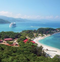 Cruisin' into #Labadee, our private island. #destination #cruising