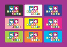 Redesign Marca Happy Kids by Marcelo Moura, via Behance