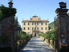 Villa Poschi nel San Giuliano Terme, Toscana