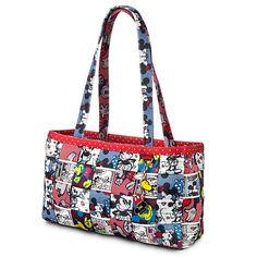 Disney Harveys Bag - Mickey Patchwork - Large Satchel