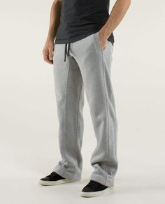 Post Gravity Pant* Regular - Large Heathered Medium Gray- Men's Lululemon