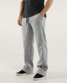 Post Gravity Pant* Regular - Large Heathered Medium Gray- Men's Lululemon