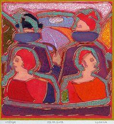 Original Automobile Painting by Ivan Lozica Oil On Canvas, Canvas Art, Original Art, Original Paintings, Car Painting, Figurative Art, Cotton Canvas, Buy Art, Saatchi Art