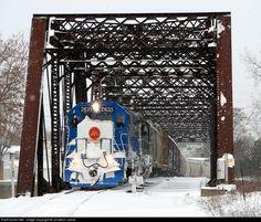 RailPictures.Net Photo: GMTX 2635 Marquette Rail EMD GP38-2 at Grand Rapids, Michigan by Jonathon Leese