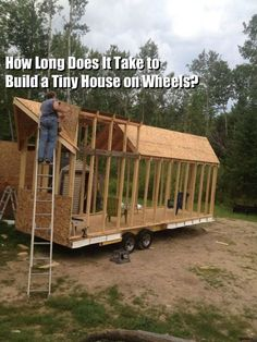 Q&A: How Long Does it Take to Build a Tiny House? #howtobuildaboat