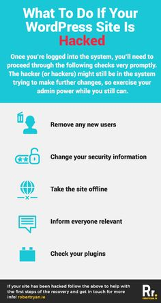 Do you know what to do when your WordPress site has been hacked? Check out the first steps you should take to recover from a WordPress hack here! Do You Know What, First Step, Web Development, Wordpress, How To Remove, Hacks, Tips