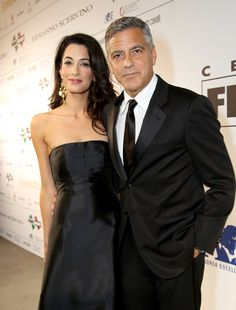 Pin for Later: These Celebrity Love Stories Are Right Out of a Fairy Tale George and Amal Clooney