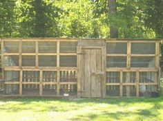 Coop made with pallets