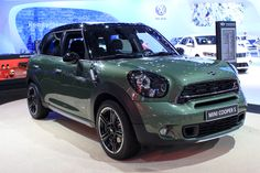 2015 MINI Countryman Gets Revised Styling, New Tech: 2014 New York Auto Show