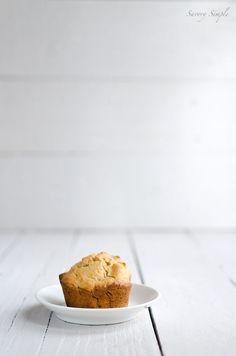 spiced acorn squash apple muffins