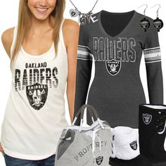 d4737445b Cute Oakland Raiders Fan Gear Oakland Raiders Sweatshirt, Raiders T Shirt,  Raiders Girl,