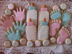 Baby set sugar cookies