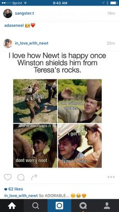 Winston the hero!