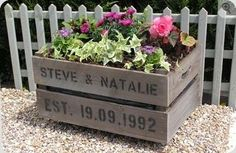 Great wedding or housewarming gift. You could replace the dates with a street number and name, too.