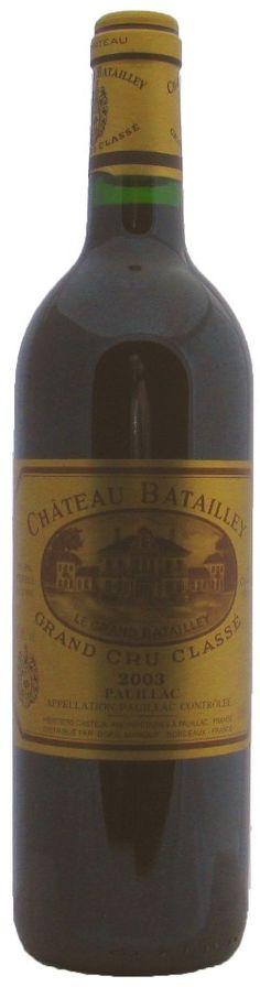 Chateau Batailley, 5eme Cru Pauillac 2003