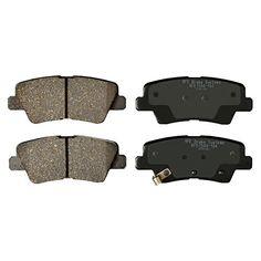 KFE Ultra Quiet Advanced KFE1544-104 Premium Ceramic REAR Brake Pad Set. For product info go to:  https://www.caraccessoriesonlinemarket.com/kfe-ultra-quiet-advanced-kfe1544-104-premium-ceramic-rear-brake-pad-set/